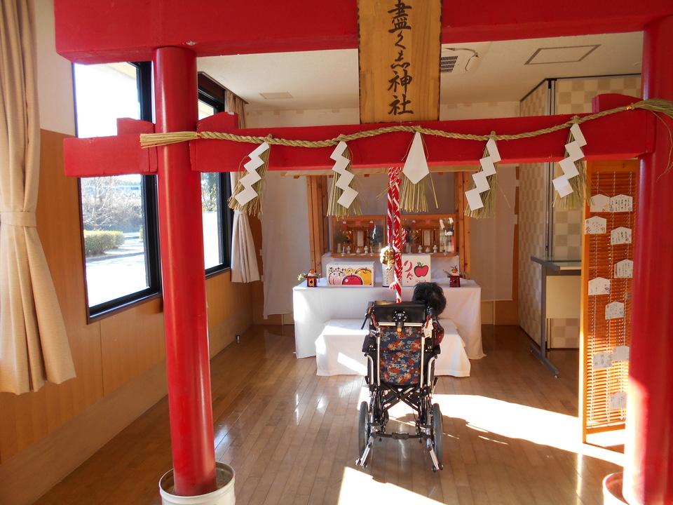つくし神社で初詣 border=