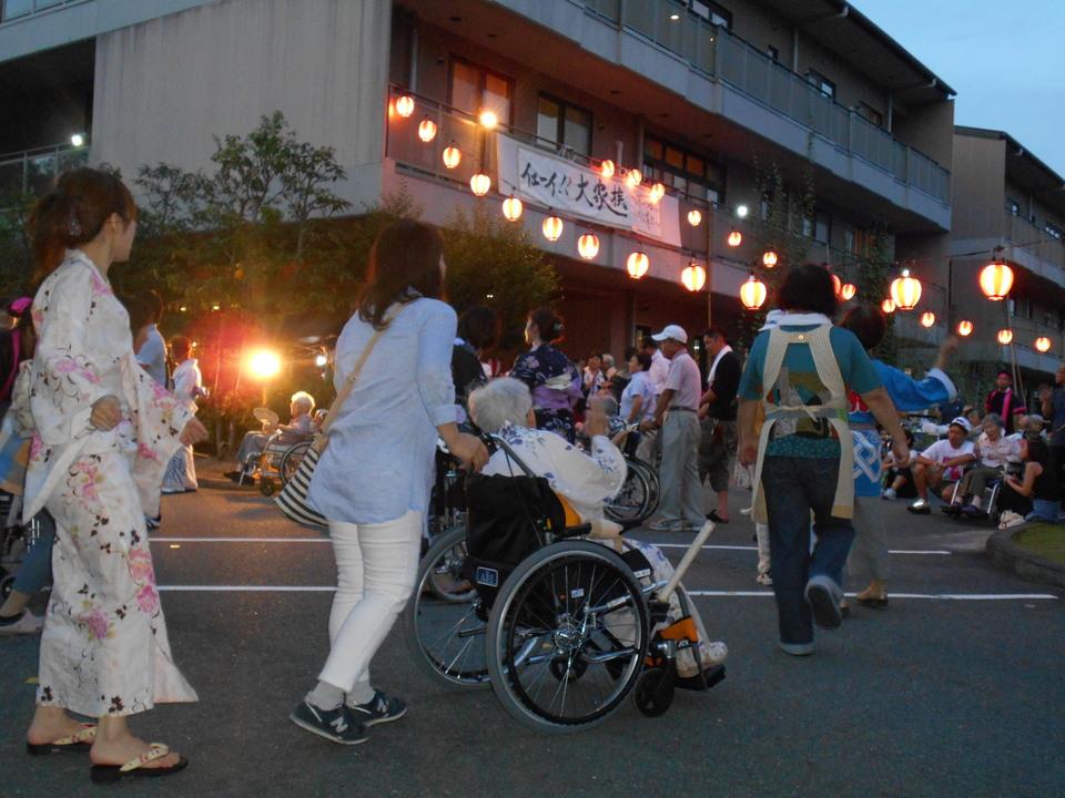 平成29年度ふくろうの杜納涼祭開催! border=