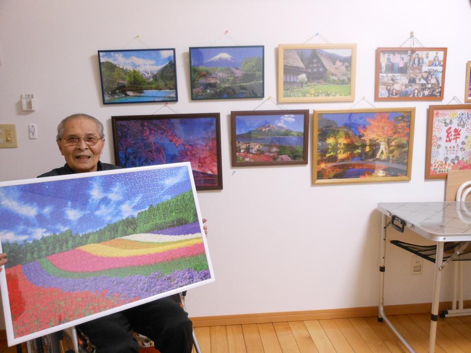 北海道「色彩の丘」の美しい1000ピースパズルが完成しました! border=